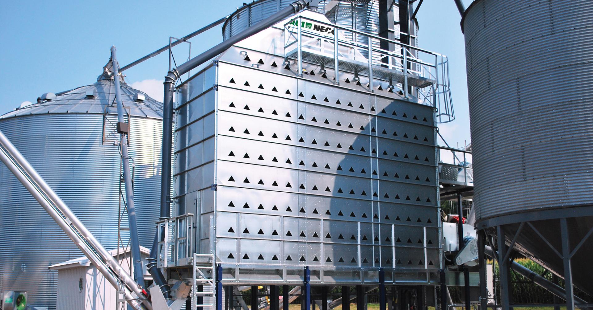 Neco Grain Dryer Installation